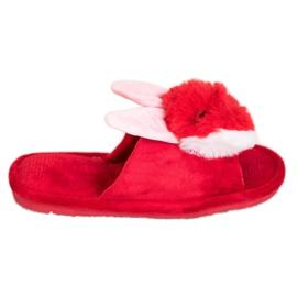 Bona Bunny tofflor röd