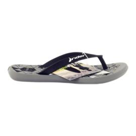 Svarta flip-flops för vatten Rider 81561