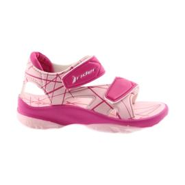 Rosa sandaler barnkardborre för vatten Rider 488