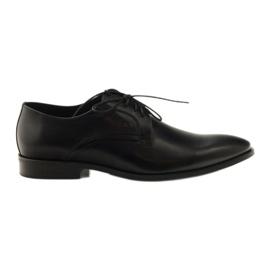 Mäns klassiska skor Pilpol 1329 svart