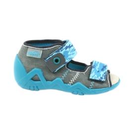 Befado barnskor sandaler med läderinsats 350P062