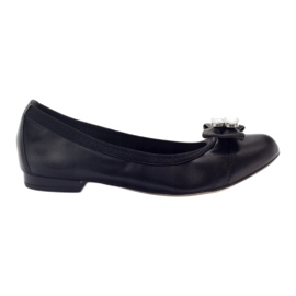 Ballerinas kvinnors båge Gamis 1402 svart