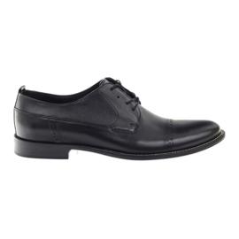 Badura klassiska svarta skor för män 7599