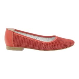Ballerinas kvinnor Angello mesh röd
