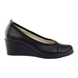 Svart Wedge heels Gregors 624 black