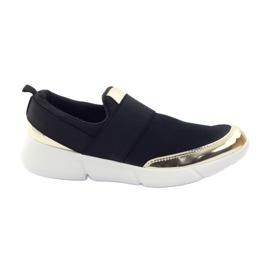 McKey Sport softshell skor i svart / guld