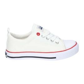 American Club Vita amerikanska LH25 Knuten sneakers