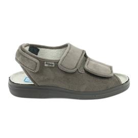 Sandaler för diabetiker Befado 676d006 grå