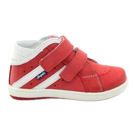 Stövletter Hugotti Velcro röd