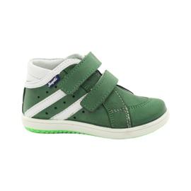 Läderskor Hugotti Green Velcro