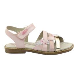 American Club Gladiator sandaler, rosa och guld