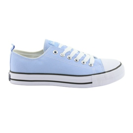 Blue American Club sneakers