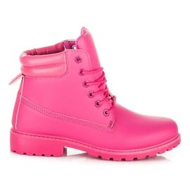 Seastar Stövlar Kvinnor Trappers rosa