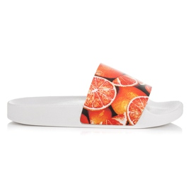 Vices Citrus tofflor apelsin