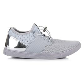 Seastar grå Sportskor med dragkedja
