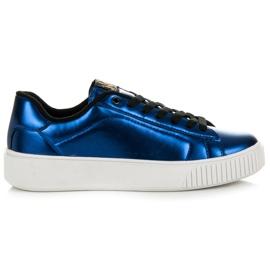 Kylie Sneakers på plattformen blå