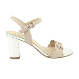Caprice sandaler damskor 28303 rosa