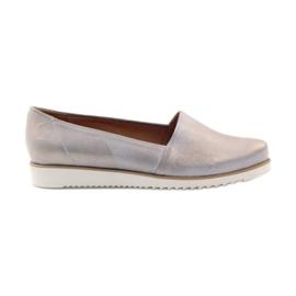 Badura kvinnors skor beige och guld