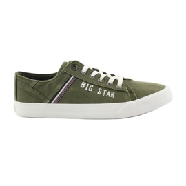 Big Star Stora stjärna sneakers 174315 khaki sneakers grön