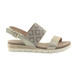 Caprice sandaler damskor 28604 gul