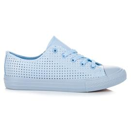 Kylie Openwork Sneakers på Binding blå