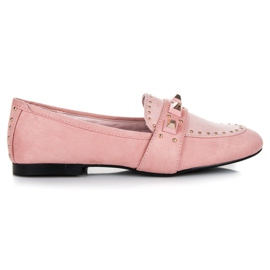 Vices rosa Suede loafers