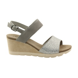 Caprice sandaler damskor 28701 grå
