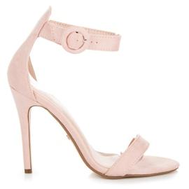 Seastar rosa Sandaler fastspända med en spänne