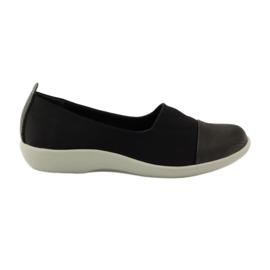 Mycket bekväma skor Aloeloe slipons svart