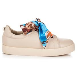 Vices Sneakers bundna med VICE Ribbon brun