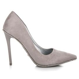 Seastar grå Trendiga Grey High Heels