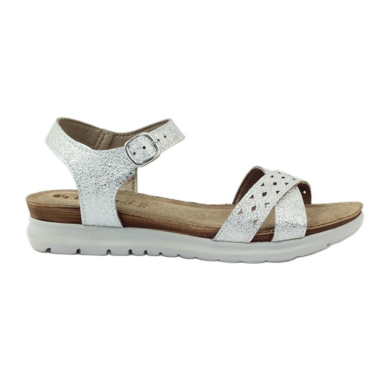Sandaler inlägg Inblu 038 silver grå