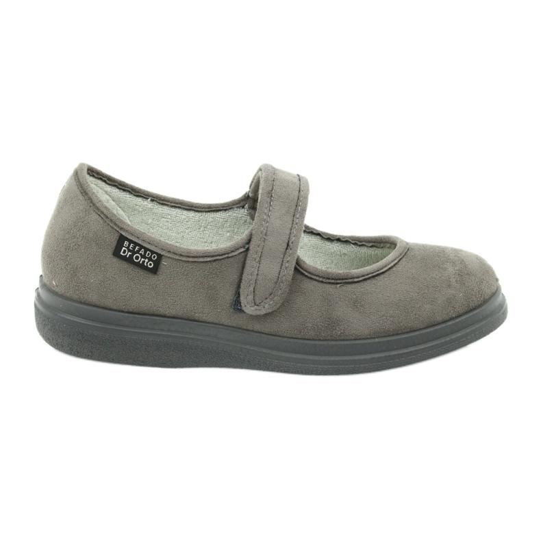 Grå Befado kvinnors skor pu 462D001