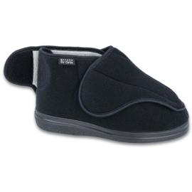 Befado mäns skor pu eller till 163M002 svart