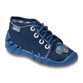 Befado marinblå barnskor 130P058