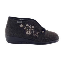 Befado kvinnors skor pu 031D027 brun