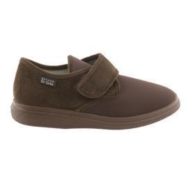 Brun Befado kvinnors skor pu 036D008