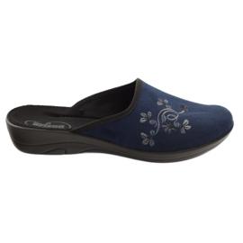 Marinblå Befado kvinnors skor pu 552D005