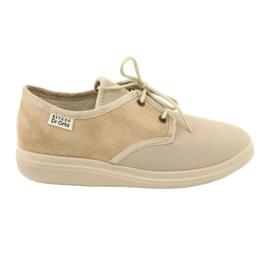 Brun Befado kvinnors skor pu 990D002