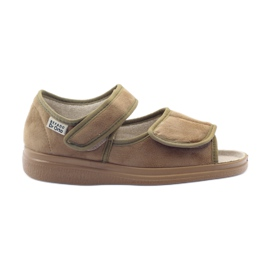 Befado kvinnors skor pu 989D003 brun