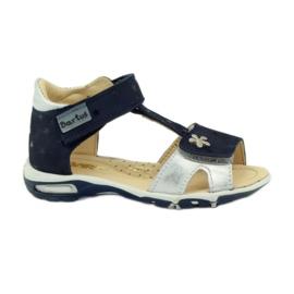 Velcro sandaler Bartuś 138 marinblå