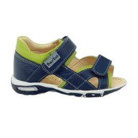 Kardborre sandaler Bartuś 137 navy blå