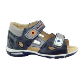Kardborre sandaler Bartuś 119 mörkgrå