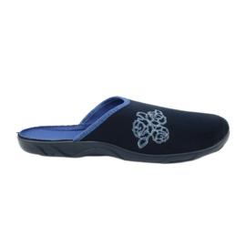 Befado färgglada kvinnors skor pu 235D157 marinblå
