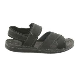 Svart Riko mäns sandaler 852 sportskor