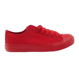 DK Sneakers bundna röda