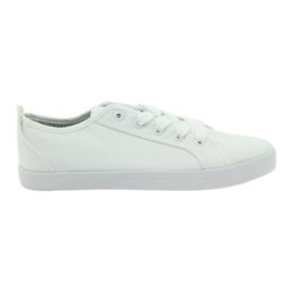 American Club Amerikanska sneakers kvinnors vita sneakers