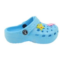 American Club Crocus flip-flops blue American blå