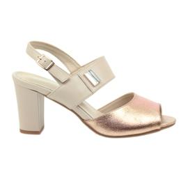 Sandals läderinsats Daszyński 107