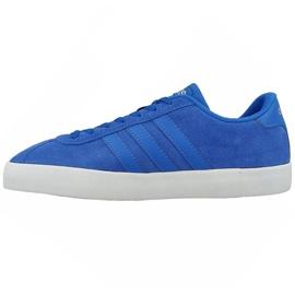 Blå Adidas Originals Vl Court Vulc M AW3928 skor
